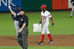 Baseball Photos - Alfonso Soriano - Alfonso Soriano joins the 40