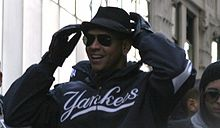Baseball Photos - Alex Rodriguez - Alex Rodriguez during the 2009 World Series parade.