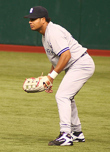 Baseball Photos - Bobby Abreu - Abreu with the Yankees.