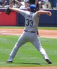 Baseball Photos - Blake Dewitt - DeWitt with the Dodgers in 2008.