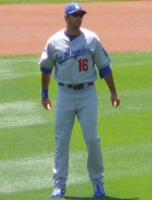 Baseball Photos - Andre Ethier - Ethier with the Dodgers in 2008.