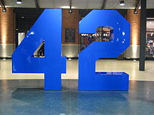 Baseball Photos - Jackie Robinson - Memorial in the Jackie Robinson Rotunda inside Citi Field