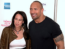 Sports Photos - The Rock (Dwayne Johnson) - Dany Garcia and Johnson at the 2009 Tribeca Film Festival.