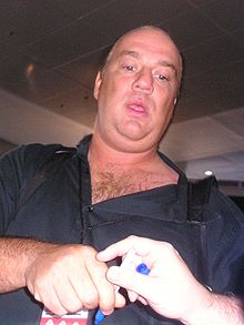 Sports Photos - Paul E. Dangerously (Paul Heyman) - Paul Heyman