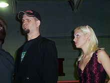 Sports Photos - Dude Rock - RCW Board of Director Member Dude Rock and his wife Sharon Rock attend business in the ring.