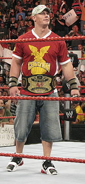 Sports Photos - John Cena - Cena as one half of the World Tag Team Champions