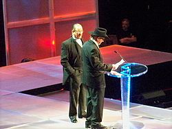 Sports Photos - Dory Funk - Dory and Terry Funk in Hall of Fame 2009.