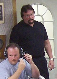 Sports Photos - The Million Dollar Man Ted Dibiase - DiBiase at a radio program on July 15