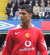 Soccer Photos - Cristiano Ronaldo  - Ronaldo with Manchester United