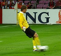 Soccer Photos - Maarten Stekelenburg - Stekelenburg playing for the Netherlands