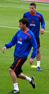 Soccer Photos - Robin Van Persie - Van Persie <i>(right)</i> and Ruud van Nistelrooy training with the Netherlands