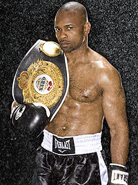 Boxing Photos - Roy Jones Jr