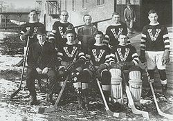 Hockey Photos - Cyclone Taylor - The Vancouver Millionaires during the 1914%E2%80%9315 PCHA season