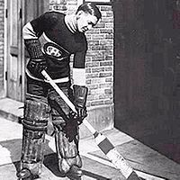 Hockey Photos - Georges Vezina - Georges Vézina with the Canadiens early in his career