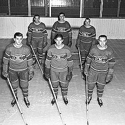 Hockey Photos - Toe Blake - The Punch line: Maurice Richard (bottom left)