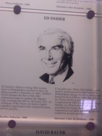 Hockey Quote - Ed Snider Quote