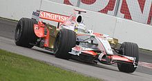 Motorsports Photos - Adrian Sutil - Sutil driving for Force India at the 2008 Canadian Grand Prix.