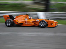 Motorsports Photos - Jos Verstappen - Verstappen driving for A1 Team The Netherlands.