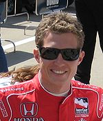 Motorsports Photos - Ryan Briscoe - Briscoe at the Indianapolis Motor Speedway in May 2008.