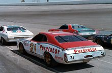 Motorsports Photos - David Pearson (Nascar_Driver) - Pearson's #21 Mercury owned by the Wood Brothers