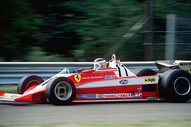 Motorsports Photos - Carlos Reutemann - Driving his Ferrari 312T3