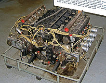 Motorsports Photos - British Racing Motors - A BRM H16 engine