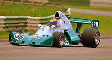 Motorsports Photos - British Racing Motors - A BRM P201
