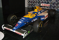 Motorsports Photos - Williams - The Williams FW14B of Nigel Mansell