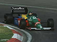 Motorsports Photos - Benetton - Thierry Boutsen driving for Benetton at the 1988 Canadian Grand Prix.