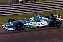 Motorsports Photos - Benetton - Giancarlo Fisichella driving for Benetton at the 1999 Canadian Grand Prix.