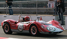 Motorsports Photos - Mclaren - The McLaren M1A sports car of 1964 was the team's first self-designed car. The 'B' version raced in Can-Am in 1966.