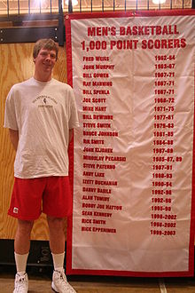 Basketball Photos - Rik Smits - Rik Smits visits Marist College on Alumni Day.