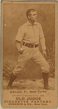 Baseball Photos - Mickey Welch