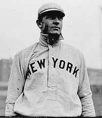 Baseball Photos - Christy Mathewson - Mathewson in Giants uniform.