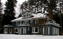 "Baseball Photos - Christy Mathewson - Mathewson's private ""cure cottage"" in Saranac Lake"