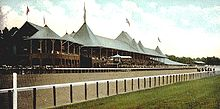 Horse Racing Photos - Saratoga Race Course - The Main Track in 1907