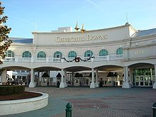Horse Racing Photos - Churchill Downs - Churchill Downs front entrance gate
