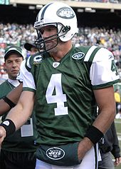 Football Photos - Brett Favre   - Favre during his time playing for the Jets