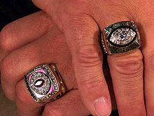 Football Photos - Joe Theismann - Joe Theismann's NFL rings (2006)