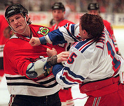 Hockey Photos - Bob Probert