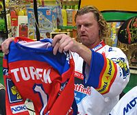 Hockey Photos - Roman Turek