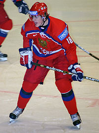 Hockey Photos - Evgeni Malkin - Malkin during the 2005 World Championships
