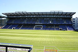 Soccer Photos - Arminia Bielefeld - The new eastern stand.