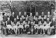 Soccer Photos - Aston Villa F.C. - The Aston Villa team of 1896