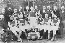 Soccer Photos - Aston Villa F.C. - The Aston Villa team of 1894
