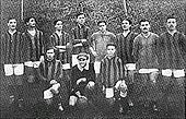Soccer Photos - Bologna F.C. 1909 - Bologna squad from the 1912 season.