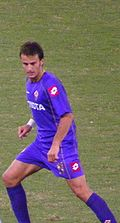 Soccer Photos - Acf Fiorentina - Alberto Gilardino serves as the <i>prima punta</i> of the Tuscany-based outfit for the last few years.