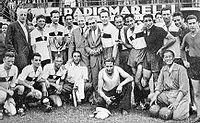 Soccer Photos - Genoa C.F.C. - Genoa <i>Coppa Italia</i> winning side of 1937