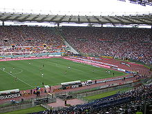 Soccer Photos - A.S. Roma - Stadio Olimpico during a Roma match