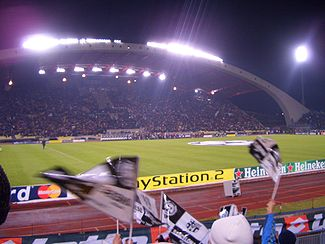 Soccer Photos - Udinese Calcio - Stadio Friuli before a Champions League match